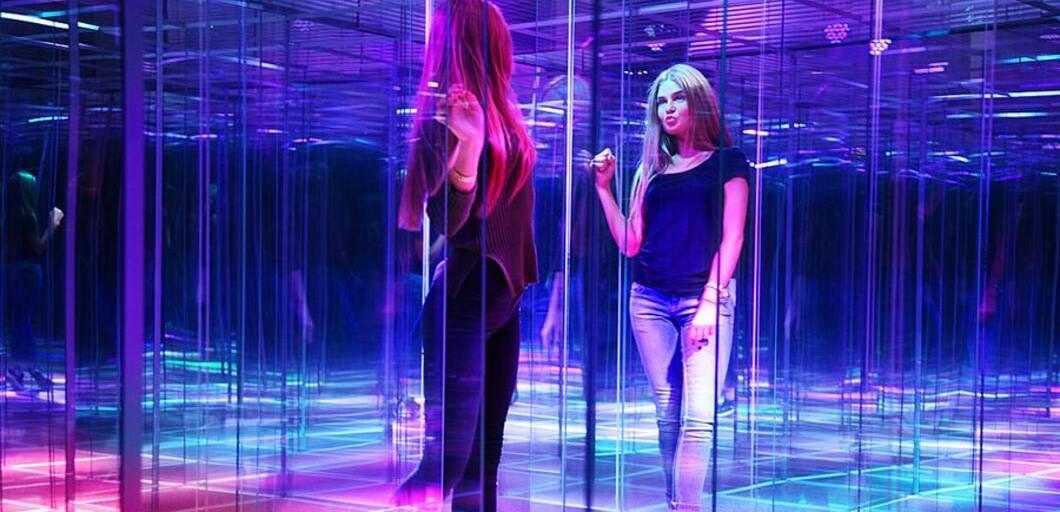 стеклянный лабиринт, фото лабиринта